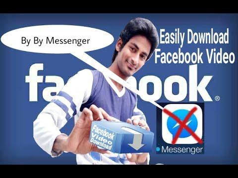 How to download video from facebook Or facebook Mai chat kijiye Messenger ke Bina.