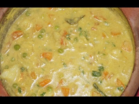 ஈஸி குருமா/ Easy kurma (simple veg stew with less spices)