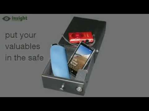 The vehicle safe from Insight Security