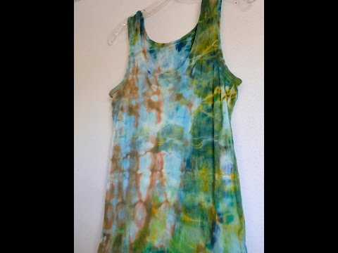 Tie Dye with Acrylic Paint : Does it Fade after Washing?