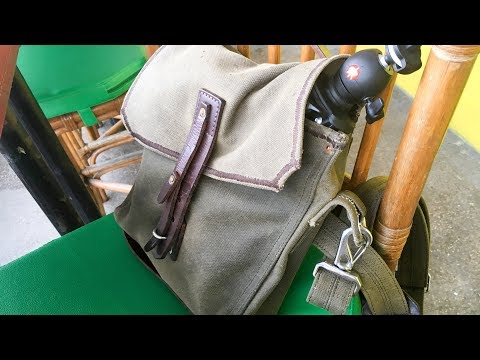 Indiana Gear Bag by Saddleback Leather - One-Year Review