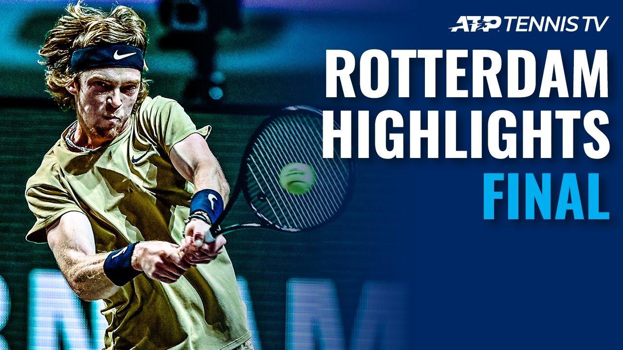 Rublev Chasing Fourth Consecutive ATP 500 Title vs Fucsovics | Rotterdam 2021 Final Highlights