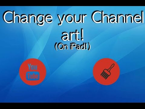 How to make a Channel art on iPad