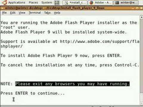 How-to install flash plug-in for firefox in ubuntu