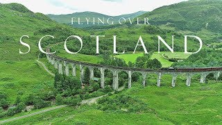 BEAUTIFUL SCOTLAND (Highlands / Isle of Skye) AERIAL DRONE 4K VIDEO