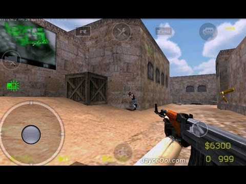 COUNTER STRIKE on Galaxy S3-Nexus-One X-Droid-S2