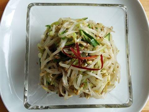 Mungbean sprouts side dish (Sukjunamul): Maangchi is nextup!
