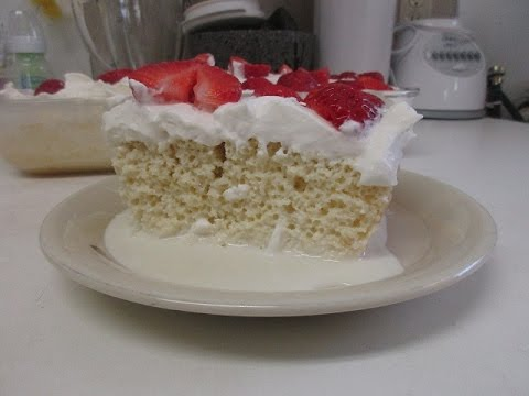 Tres Leches Cake !!!!!  Easy and Wonderful   :)