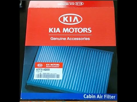 How to Change a Kia Cabin Air Filter (and save easy money)