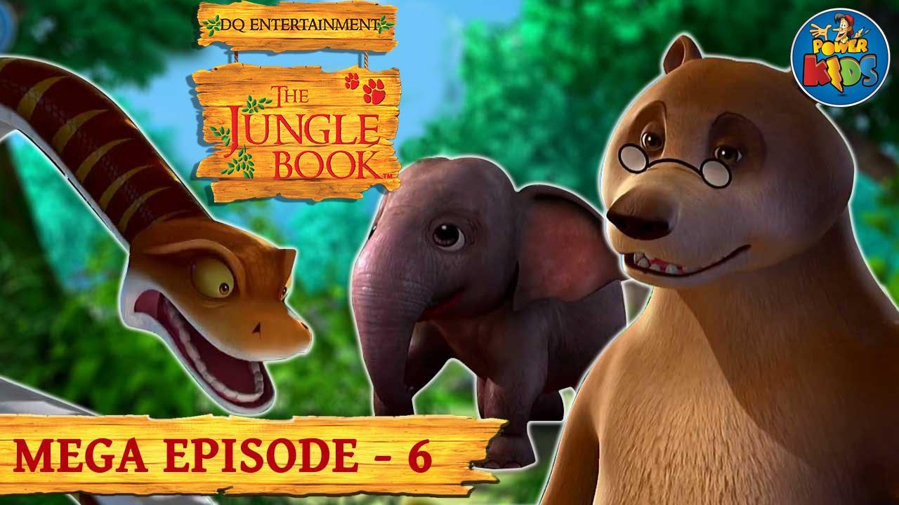 The Jungle Book Cartoon Show Mega Episode 6 | Latest Cartoon Series