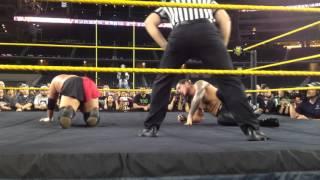 Samoa Joe vs Baron Corbin with Surprise Ending