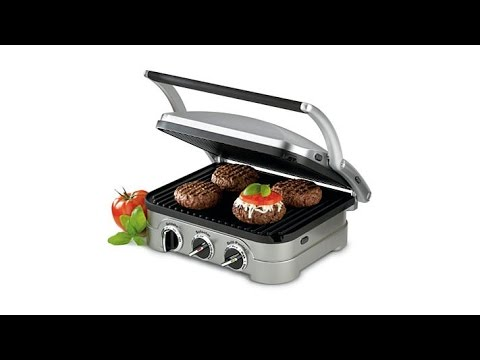 Cuisinart Multifunction Griddle, Grill and Panini Press