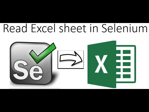 How to Read Excel File in Selenium Webdriver Using Apache POI