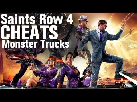 Saints Row 4 Cheats: Monster Truck