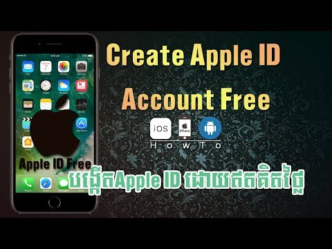 how to create apple id free account without credit card on iphone