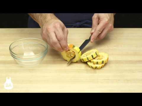 How To: Slice Delicata Squash