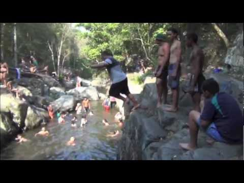 Cedar Creek Cliff Jumping