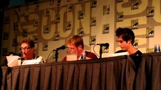 Comic-Con 2012 - Adventure Time panel part 1 - Detective Ice King radio play