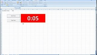 How to implement running clock with Excel VBA - PlayItHub