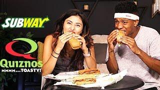 Subway vs. Quiznos Broke People Test!