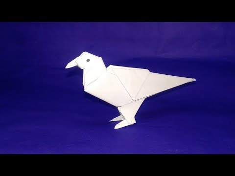 Paper Bird DIY#How to make Easy origami paper Bird step by step-easy craft
