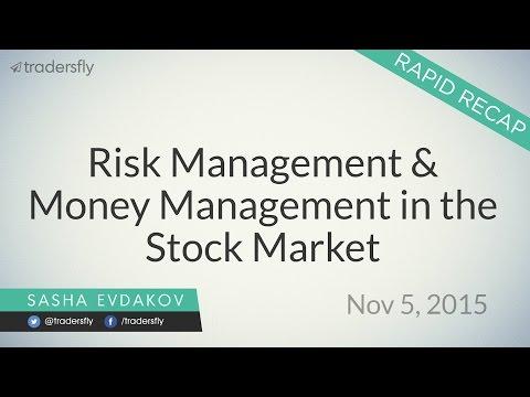 Risk Management & Money Management in the Stock Market
