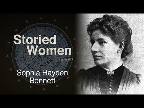 Storied Women of MIT: Sophia Hayden Bennett
