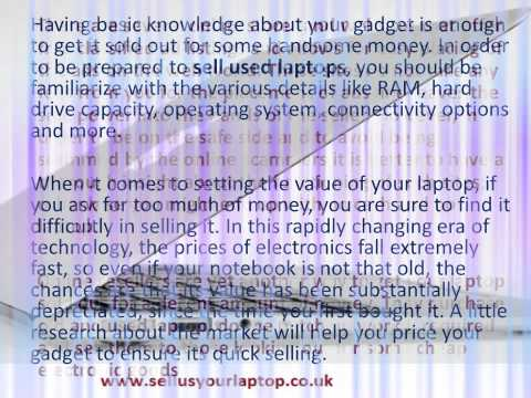 Best Tips to Sell Laptops Online