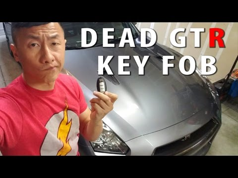Dead GTR key fob battery replacement