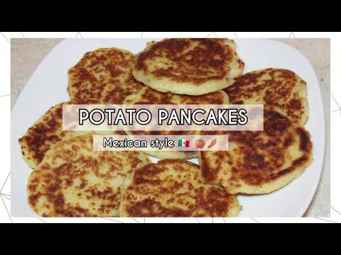 CHEESY POTATO PANCAKES  RECIPE   MEXICAN STYLE