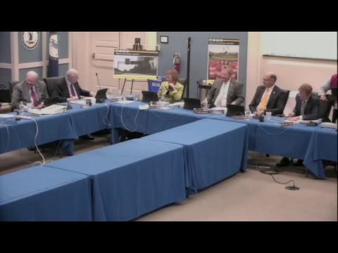 Commonwealth Transportation Board Meeting, April 17th, 2018
