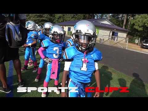 RockMart vs Panthers 6U Youth Football   Ballers Game   Atlanta Ga   Football Nation