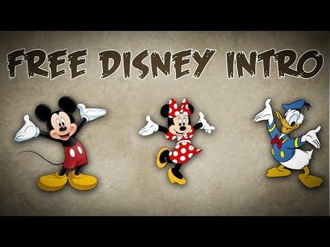 FREE Disney Intro / New Disney YouTube Intro Video