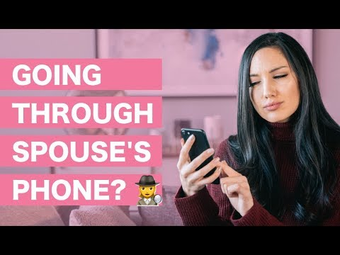 Is it Ok to Go Through Your Spouse's Phone?