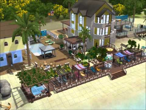 The Sims 3 - Island Paradise - Re-Building a Resort