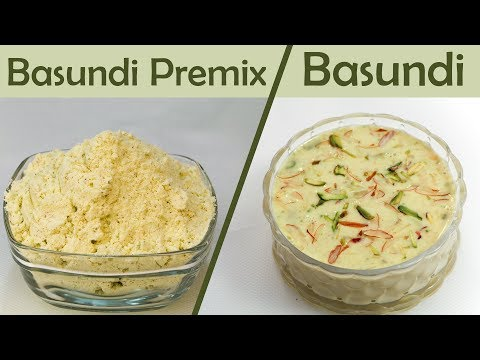 Basundi Mix Powder Recipe Instant Basundi Indian Sweet Dessert Mithai बासुंदी प्रेमिक्स रेसिपी