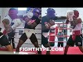 GERVONTA DAVIS HEATED SPARRING LEAKED; GETS INTO IT WITH MONTANA LOVE AS ADRIEN BRONER WATCHES mp3