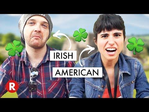 IRISH SLANG vs. AMERICAN SLANG (ft. TheIrishWill)