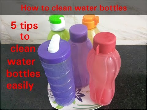 5 tips for water bottles cleaning / how to clean water bottels / 5 tipes for water bottels clean
