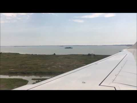 Venice Marco Polo Airport   Approach, Landing and Taxi