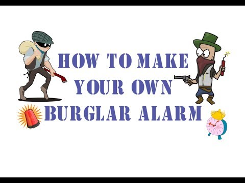 HOW TO MAKE BURGLAR ALARM | HOW TO MAKE LASER SECURITY ALARM AT HOME [DIY PROJECT]