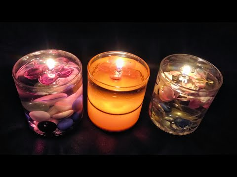DIY - FLOATING WATER CANDLES