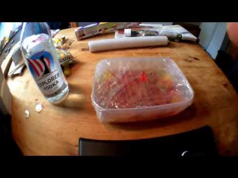 How to make gummi bears vodka