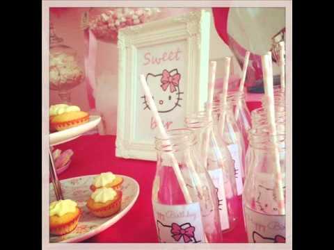 Hello Kitty sweet table - sweet bar