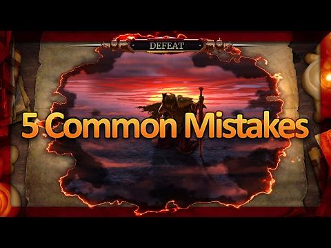 Five Common Mistakes in The Elder Scrolls: Legends