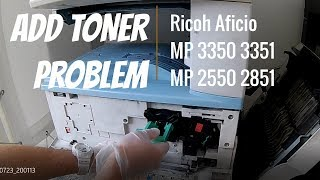 HOW TO REPLACE UPPER FUSER ROLLER and PRESS ROLLER ricoh 1085 2105