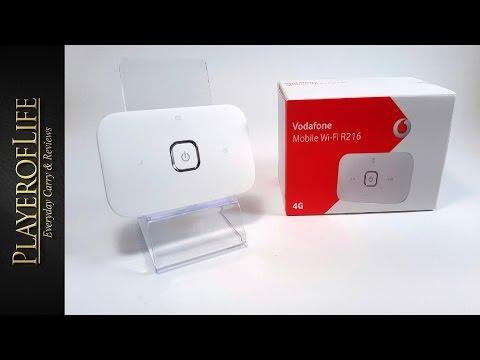 EDC Mobile Broadband Vodafone wifi R216 - 4G Model March 2016