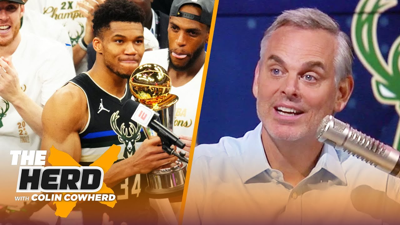 Giannis is now the face of the league —Colin on Bucks bringing Milwaukee the title   NBA   THE HERD