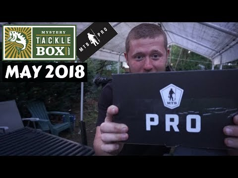 Mystery Tackle Box PRO ~ May 2018 Unboxing