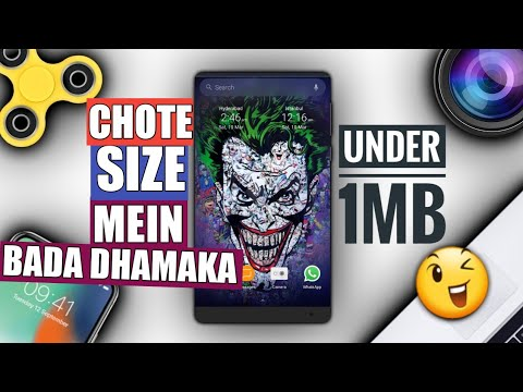 Top 5 Secret Android Apps Under 1MB 2018 Chote Size Bada Dhamaka